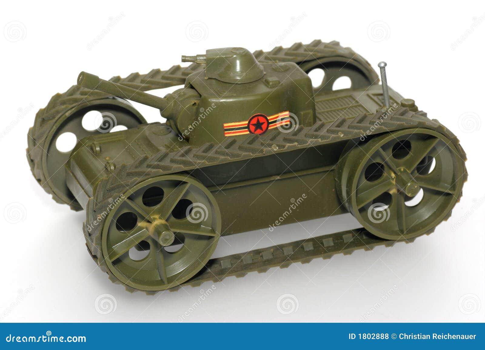 Réservoir militaire de jouet