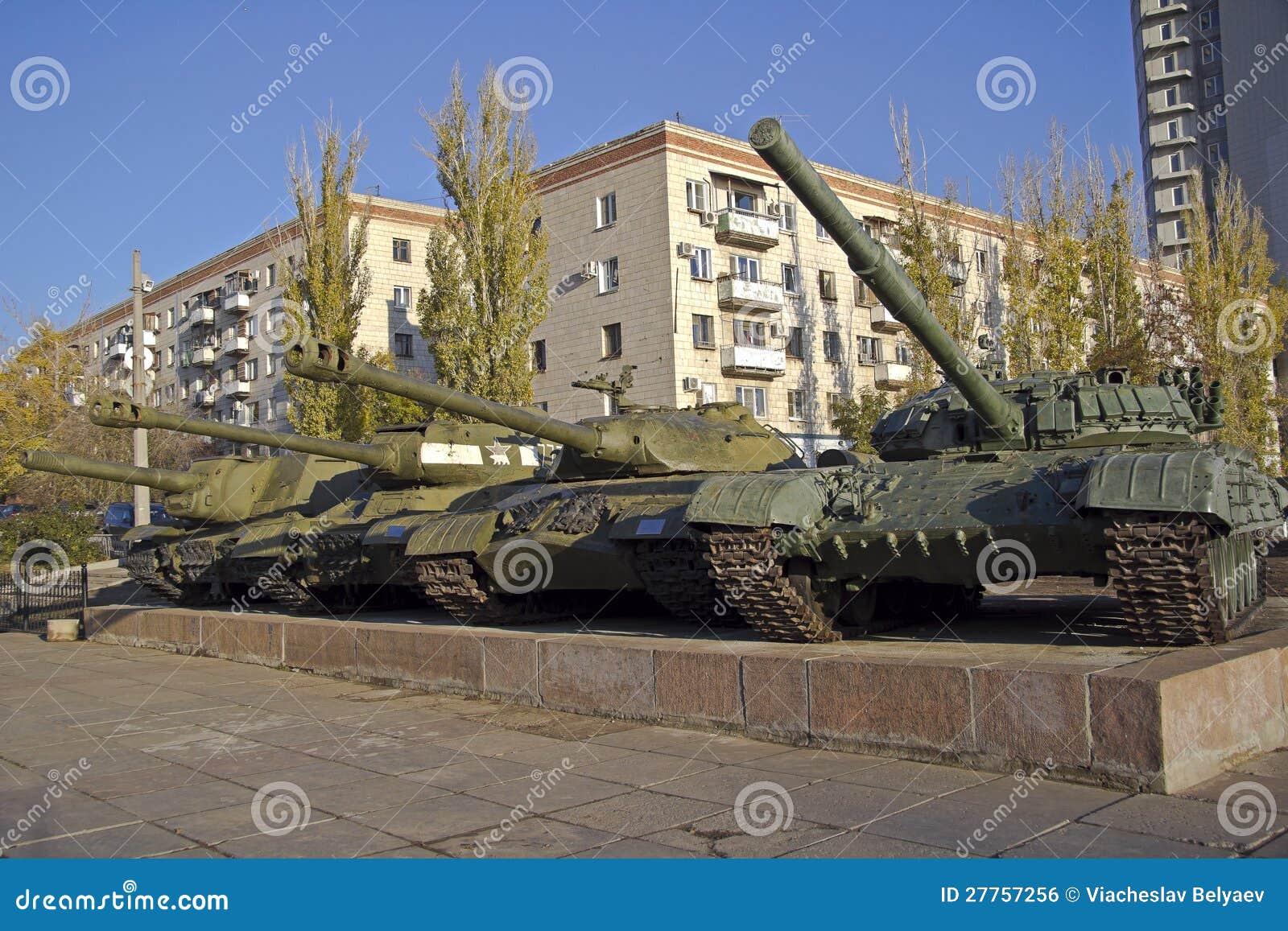 Réservoirs soviétiques