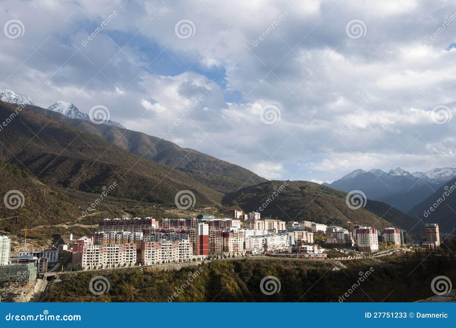 Résidant sur la montagne