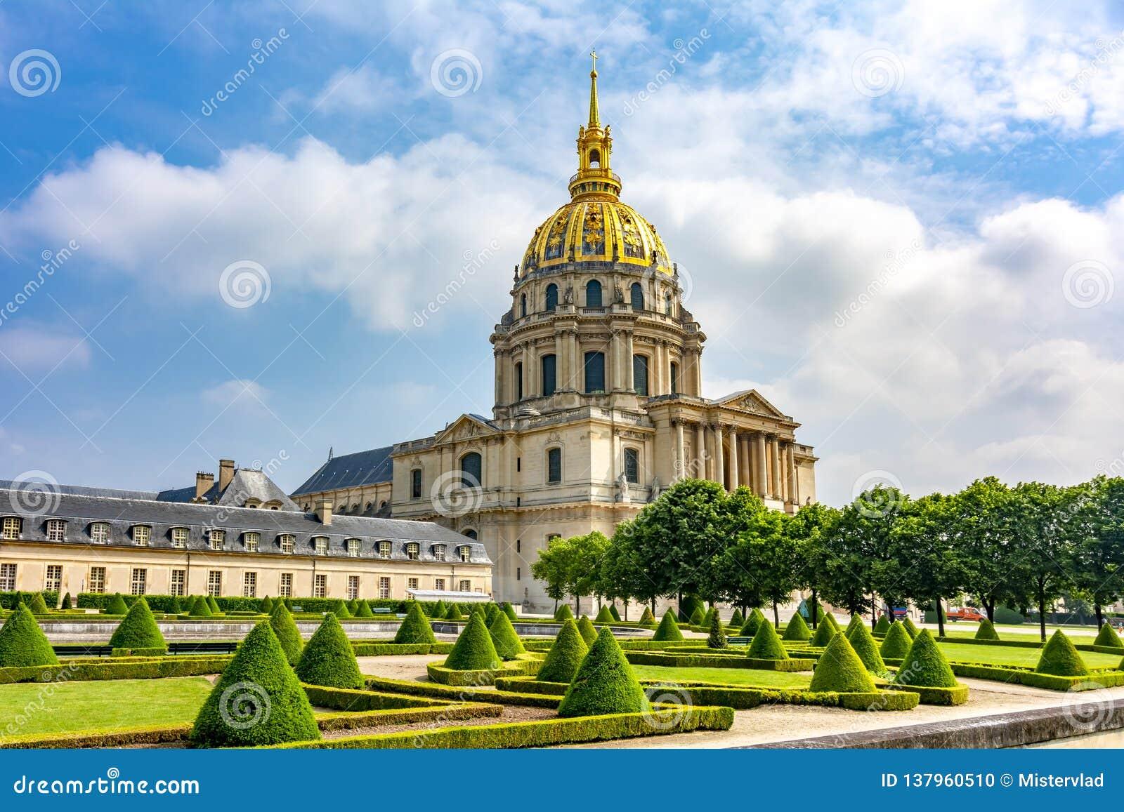 Résidence nationale de Les Invalides de l Invalids à Paris, France