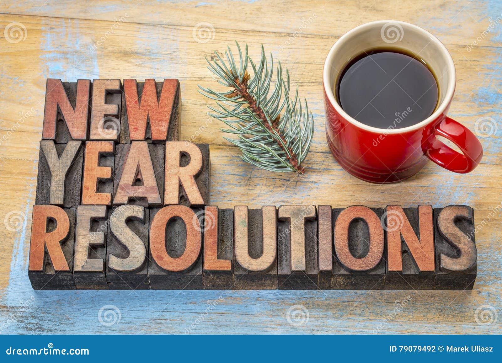 Résolutions d an neuf
