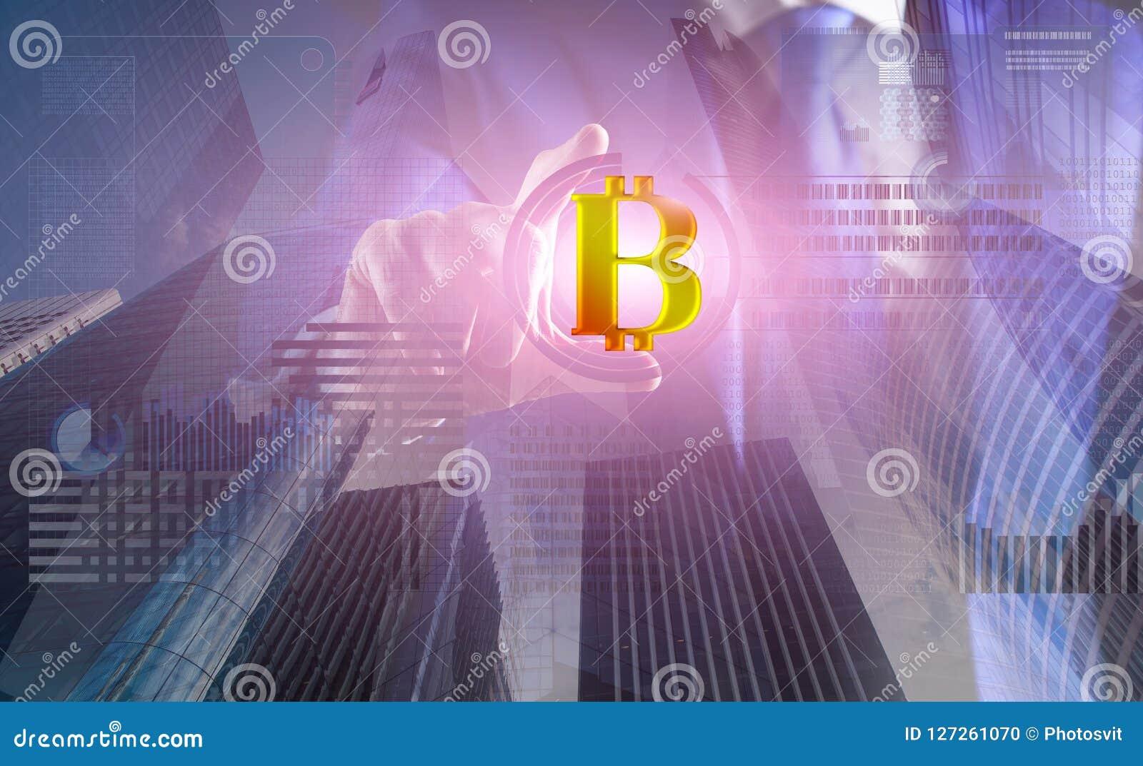 Résolvez le bloc gagnent le bénéfice Technologie de Blockchain exploitation Bitcoin Futur bitcoin numérique d argent Virtuel inte