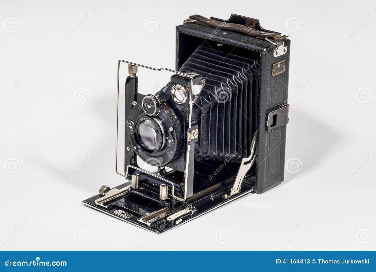 Rétro appareil-photo de pliage