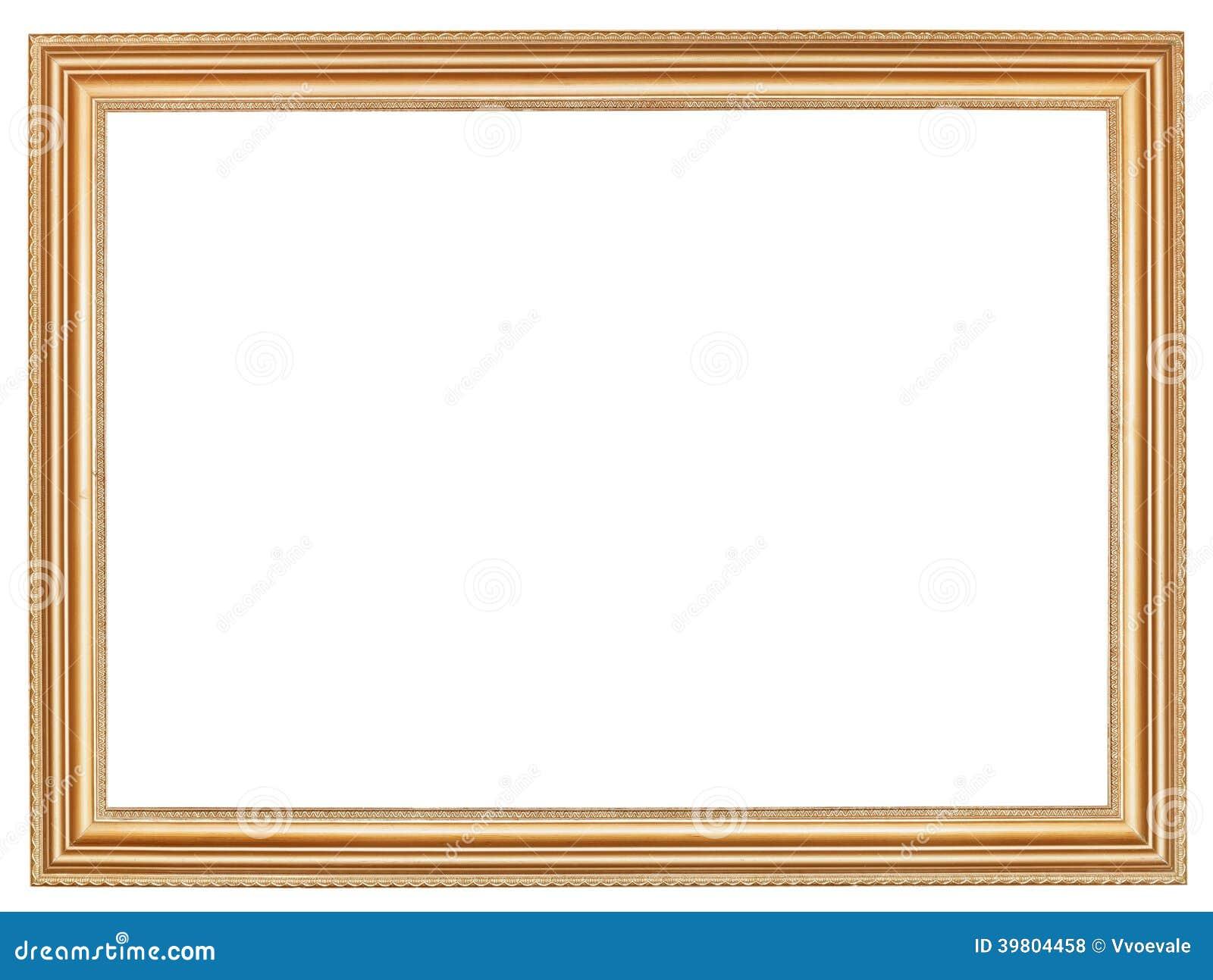 r tro cadre de tableau en bois large classique photo stock image 39804458. Black Bedroom Furniture Sets. Home Design Ideas