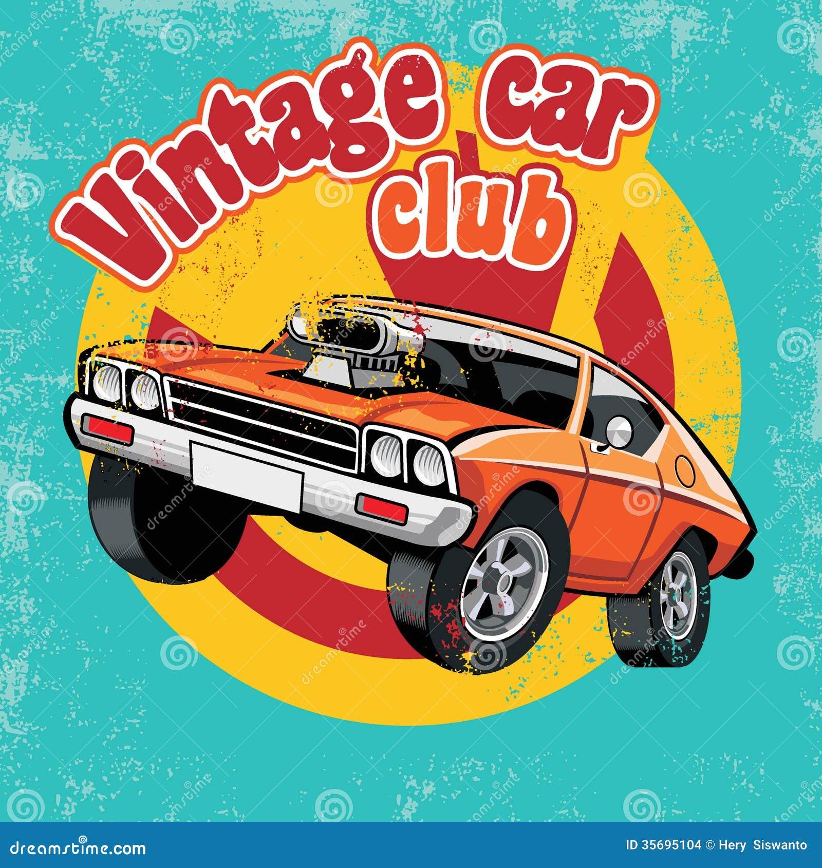 Rétro club de voiture