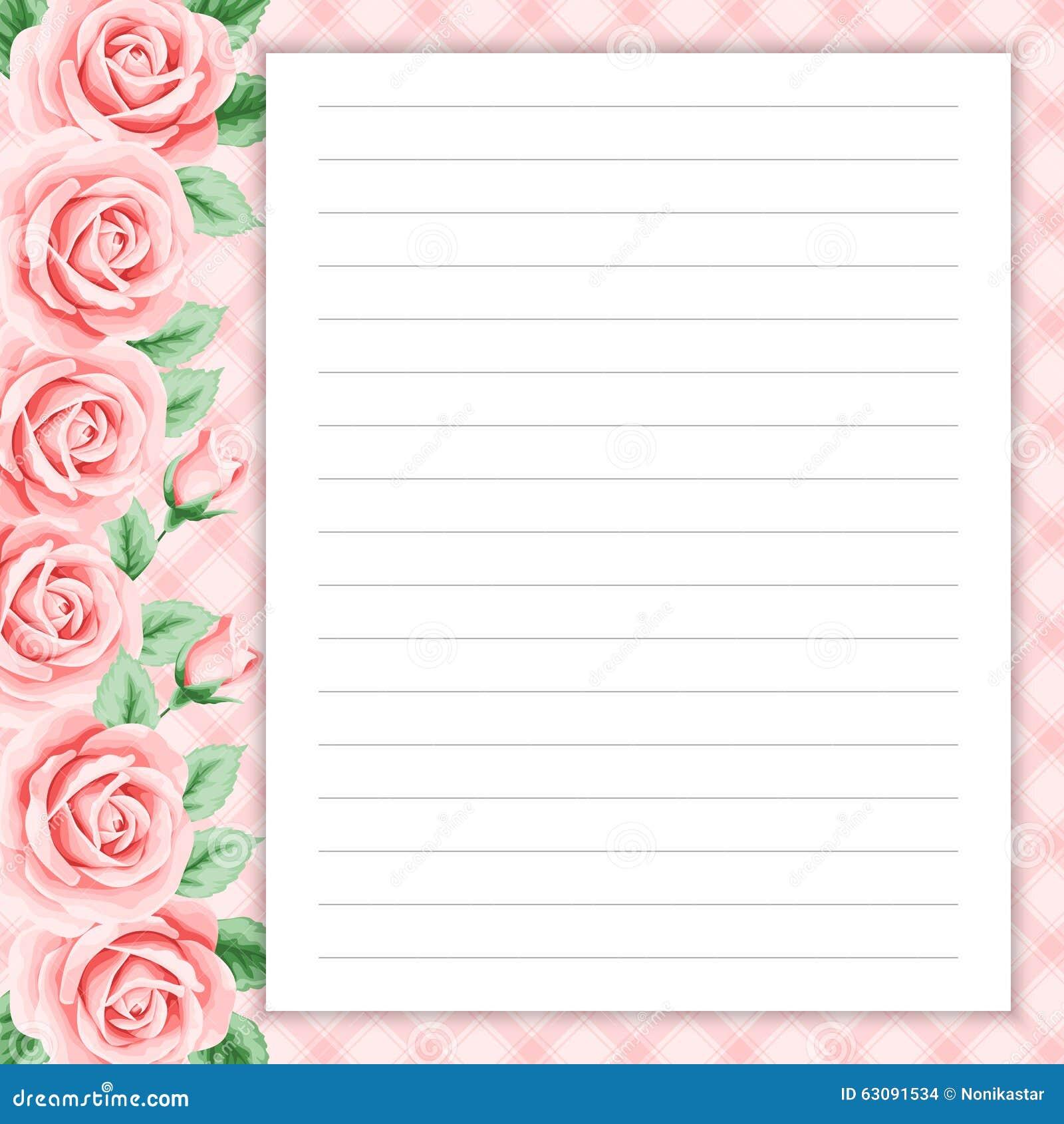 Download Rétro page pour des notes illustration de vecteur. Illustration du félicitez - 63091534