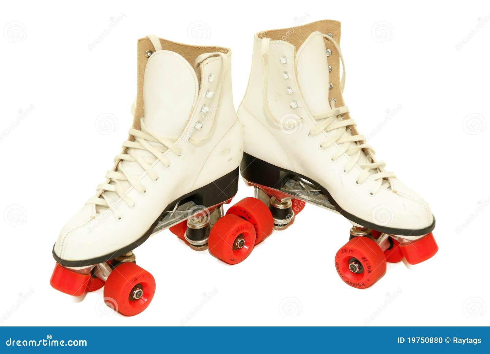 Rétro patins de rouleau