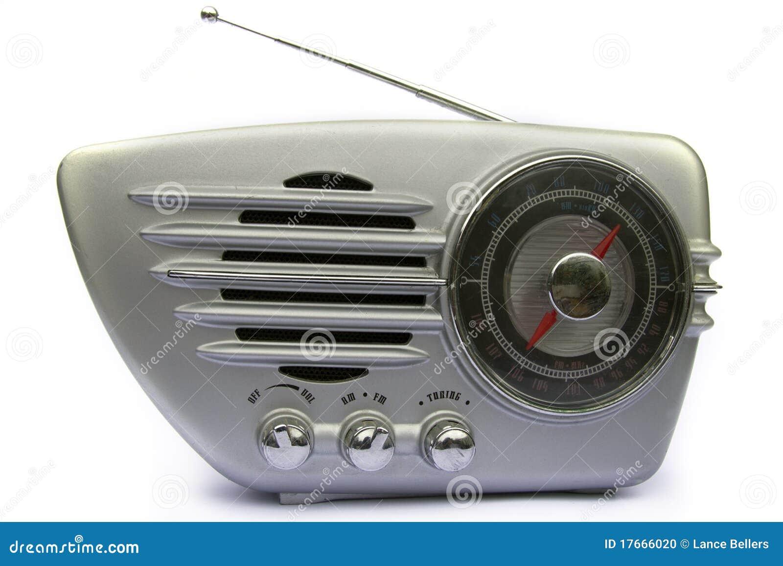 Rétro radio de chrome