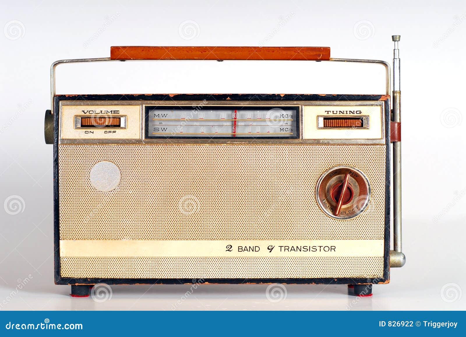 Rétro radio de cru