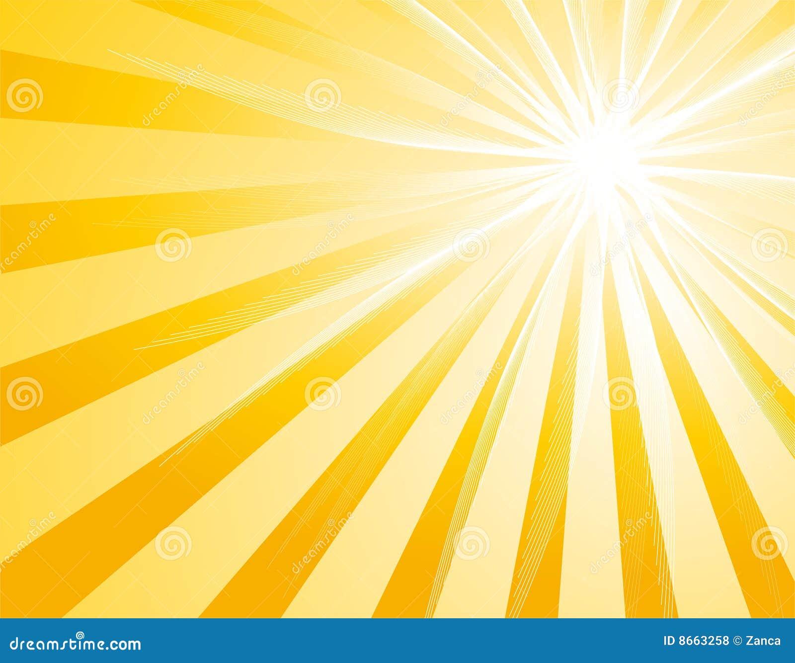 Rétro rayon de soleil