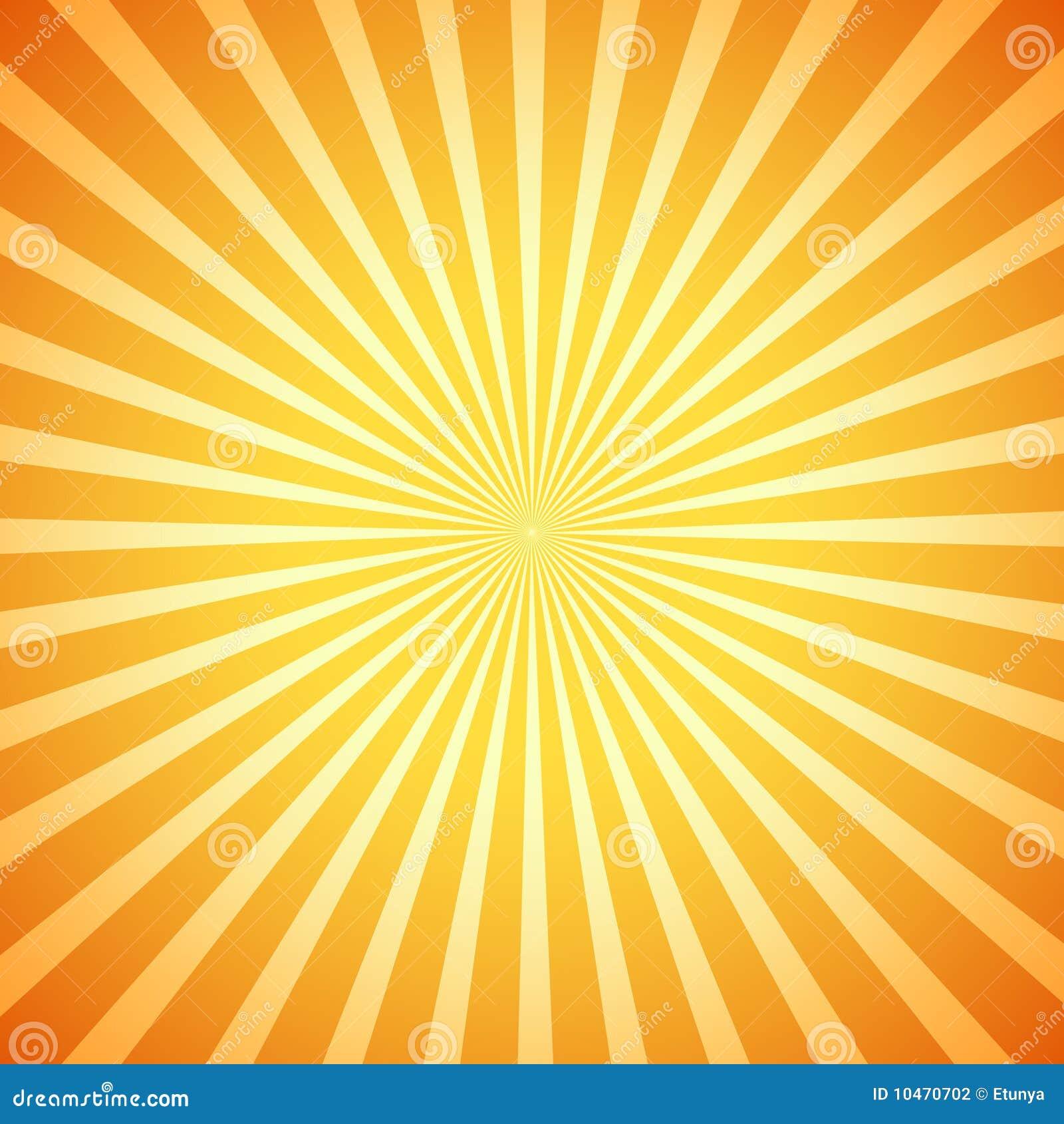 Rétro rayon de soleil de vecteur
