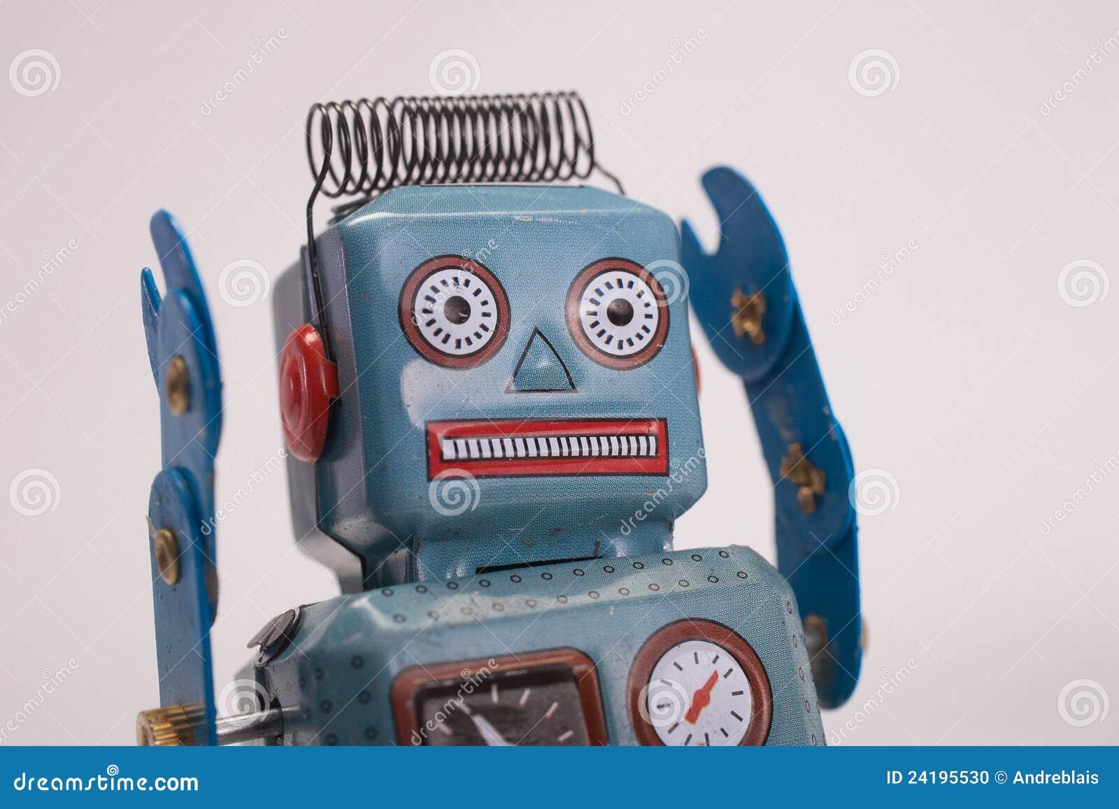 Rétro robot de jouet