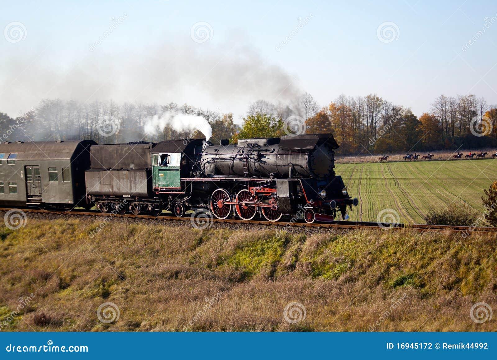 Rétro train de vapeur