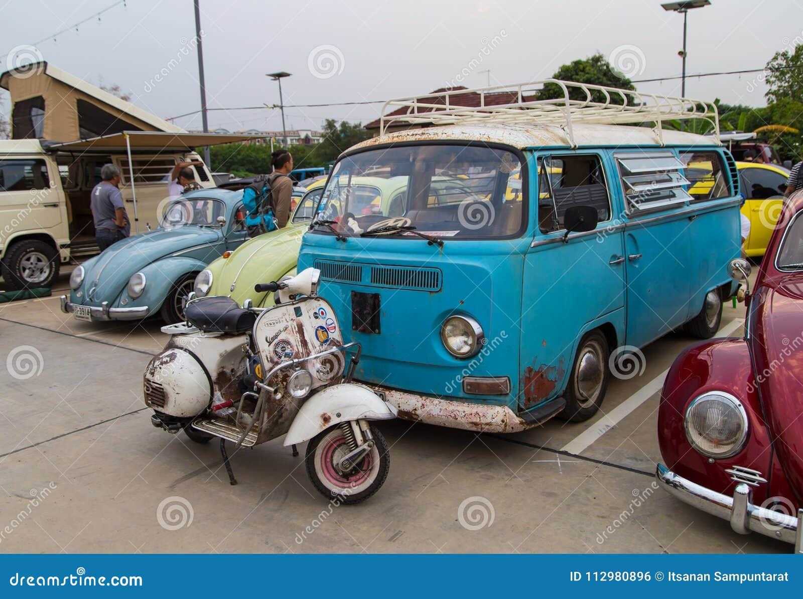 Réunion de club de propriétaires de Volkswagen en Thaïlande