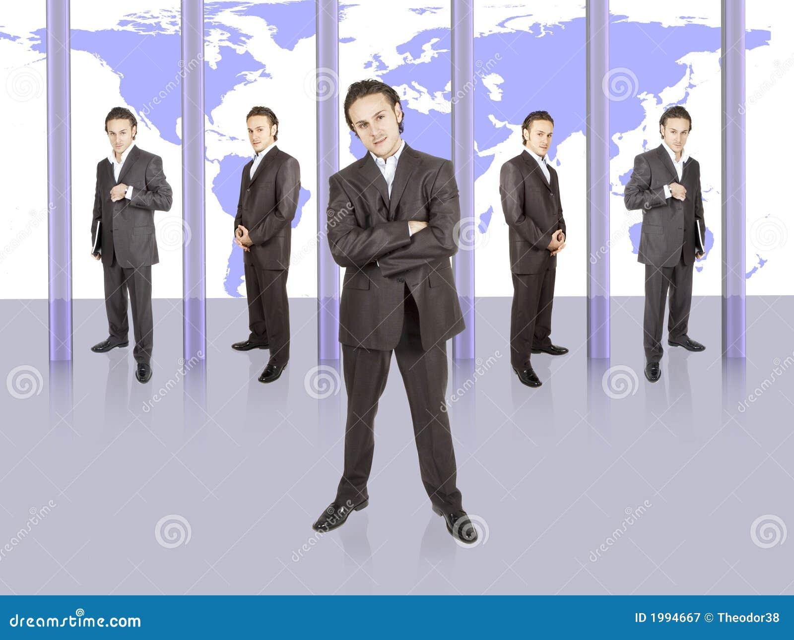 Réussite d homme d affaires