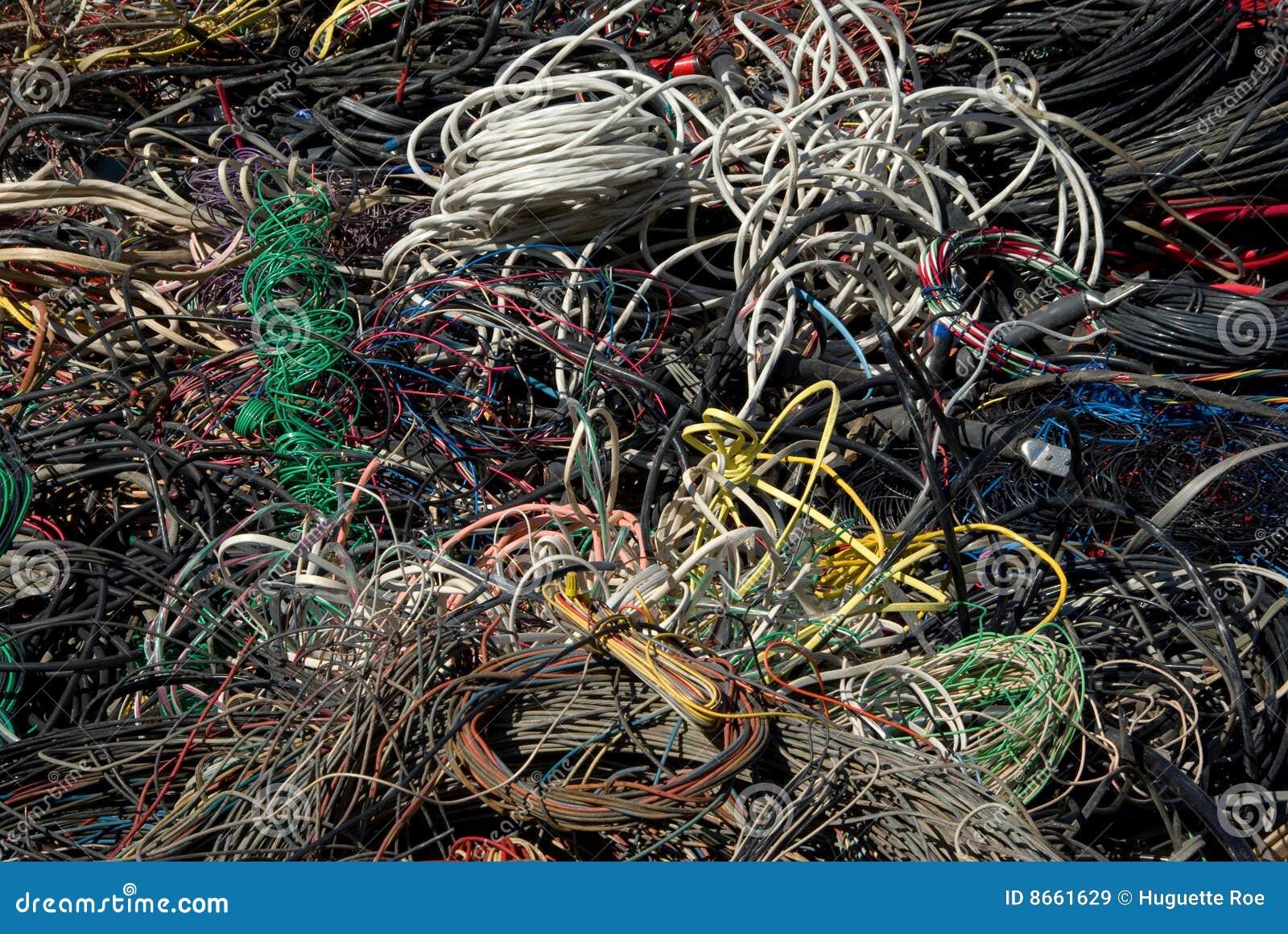 Réutilisation de beaucoup de câbles
