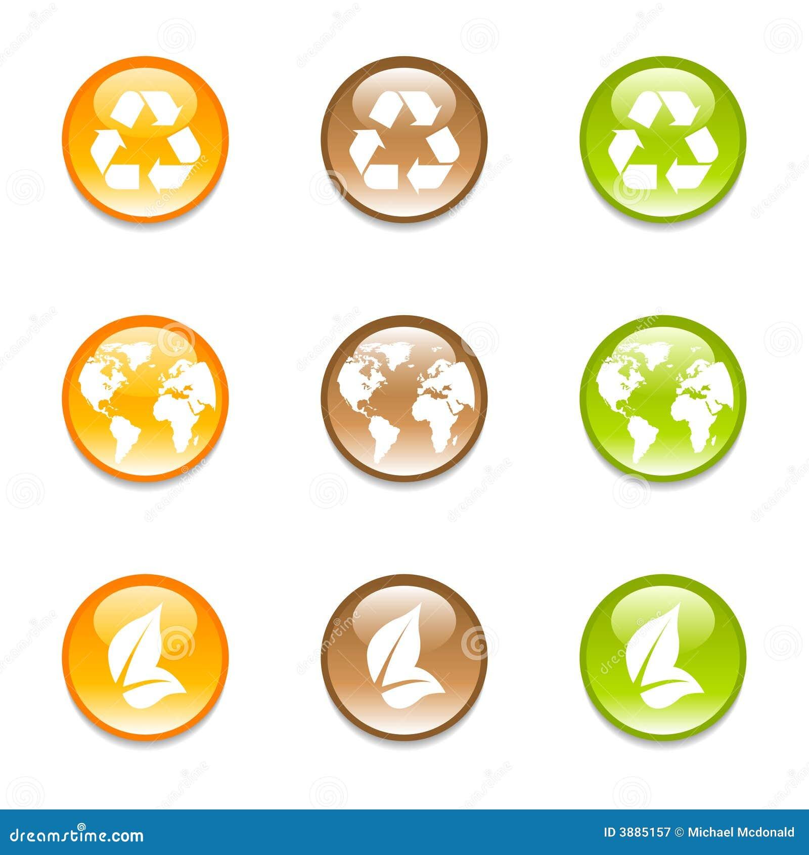 Réutilisation des graphismes de la terre dans 3 couleurs