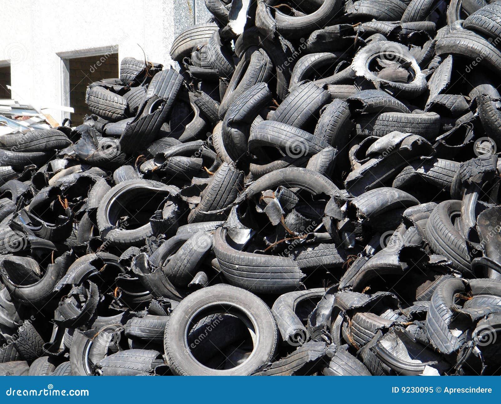 Réutilisation des pneus