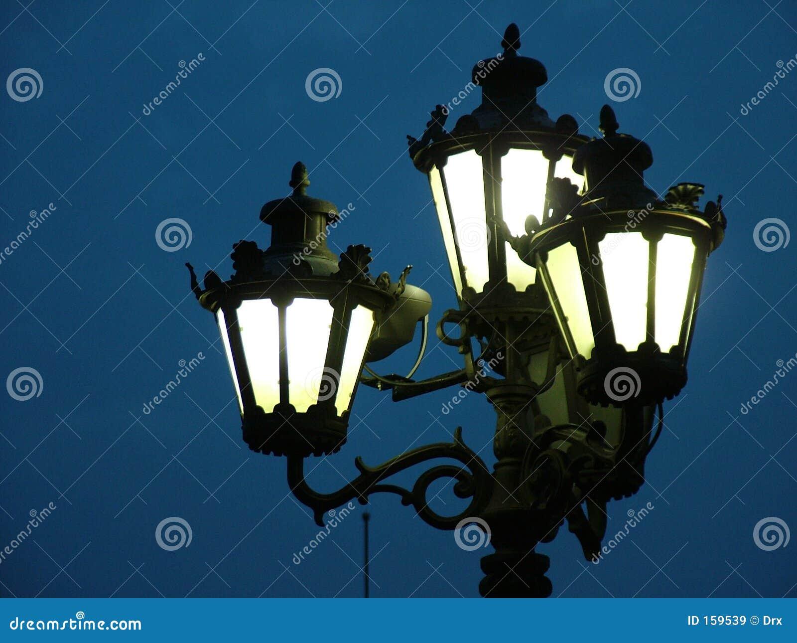 Réverbères - lanterne