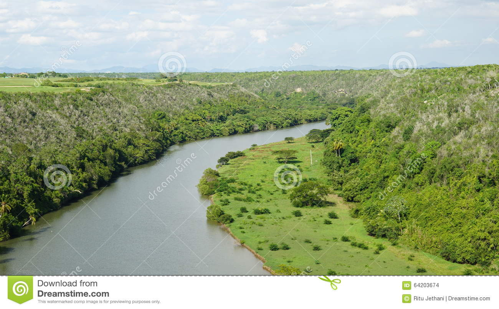 Río de Chavon en el La Romana, República Dominicana