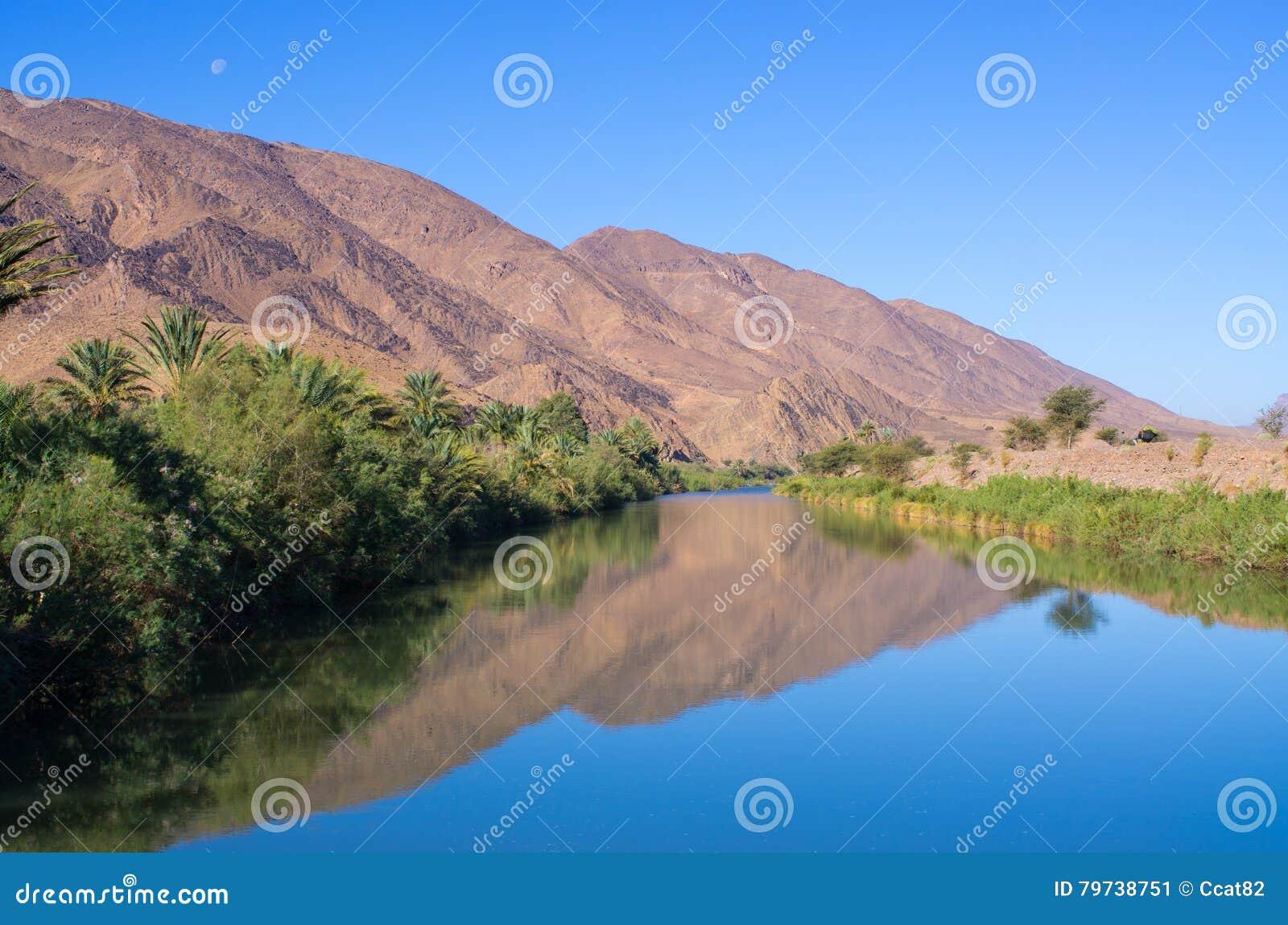 Río de Draa en Marruecos