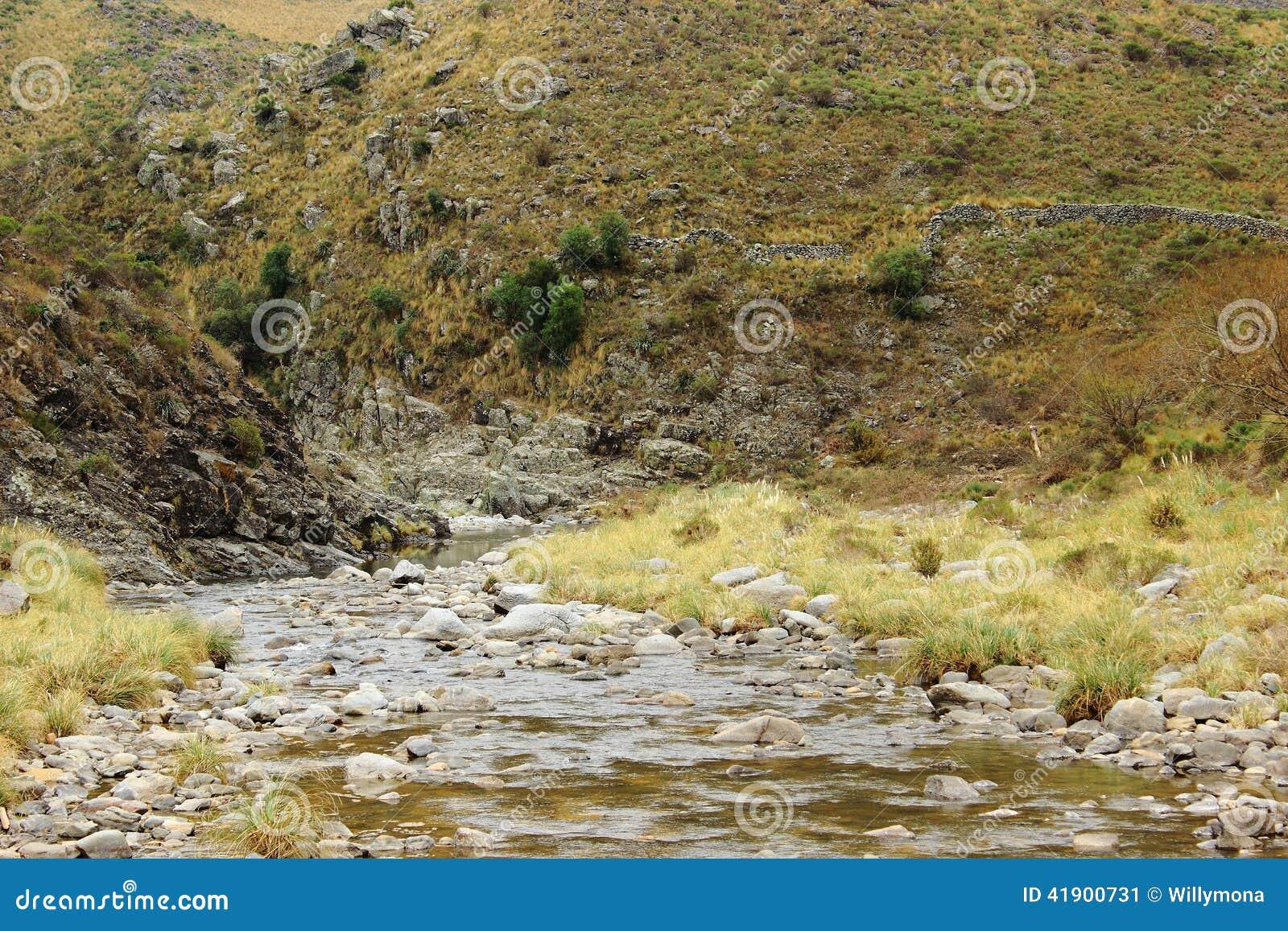 Río en montañas