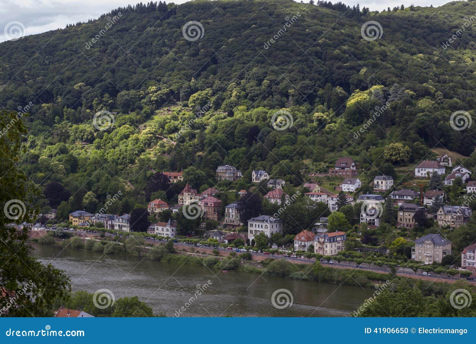 Río Neckar de Heidelberg