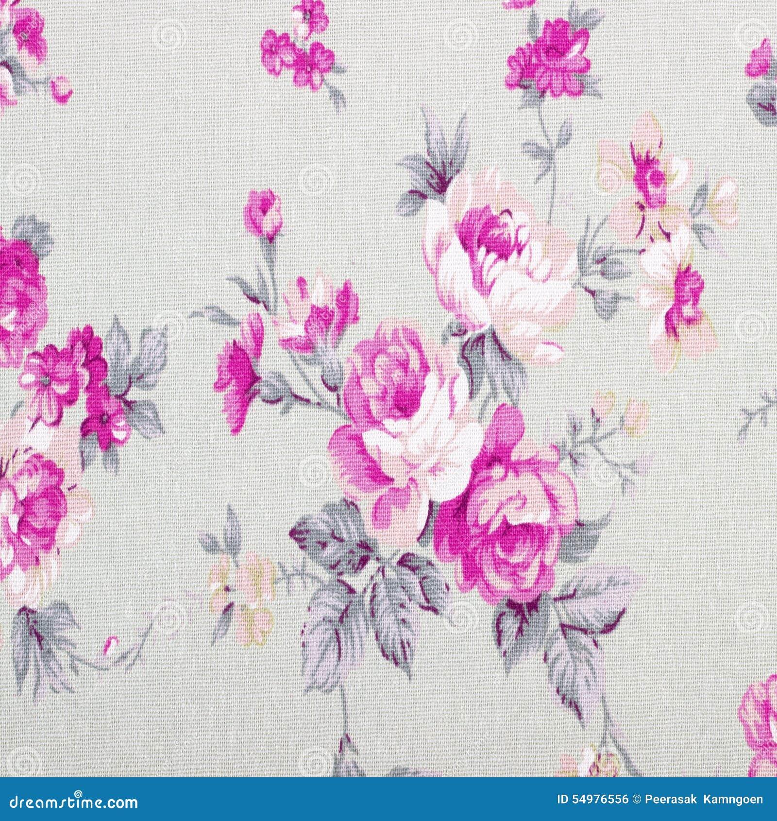 Różany rocznik od tkaniny