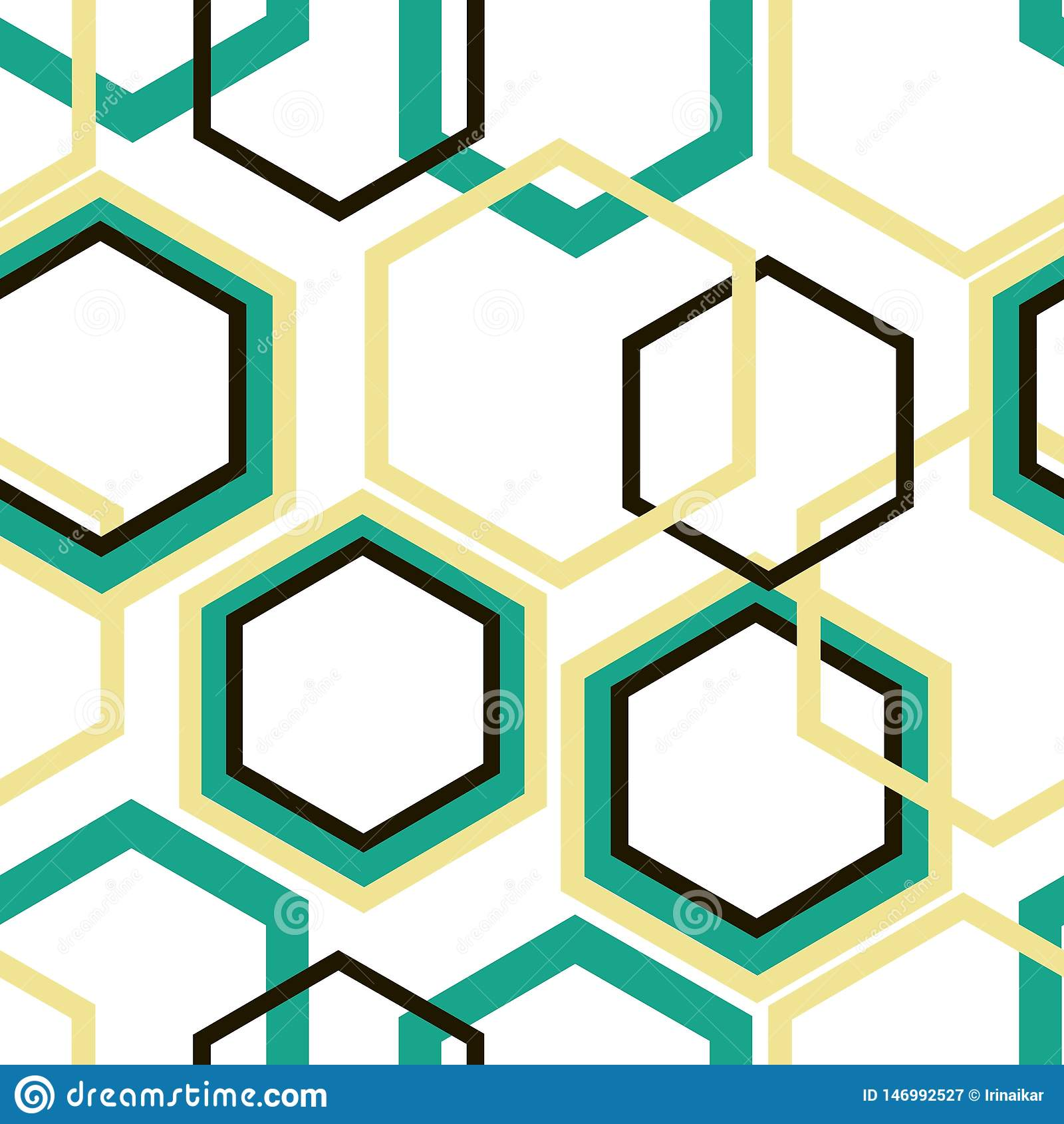 Różni wielkościowi turkusu, żółtych i czarnych rhombuses na białym tle,