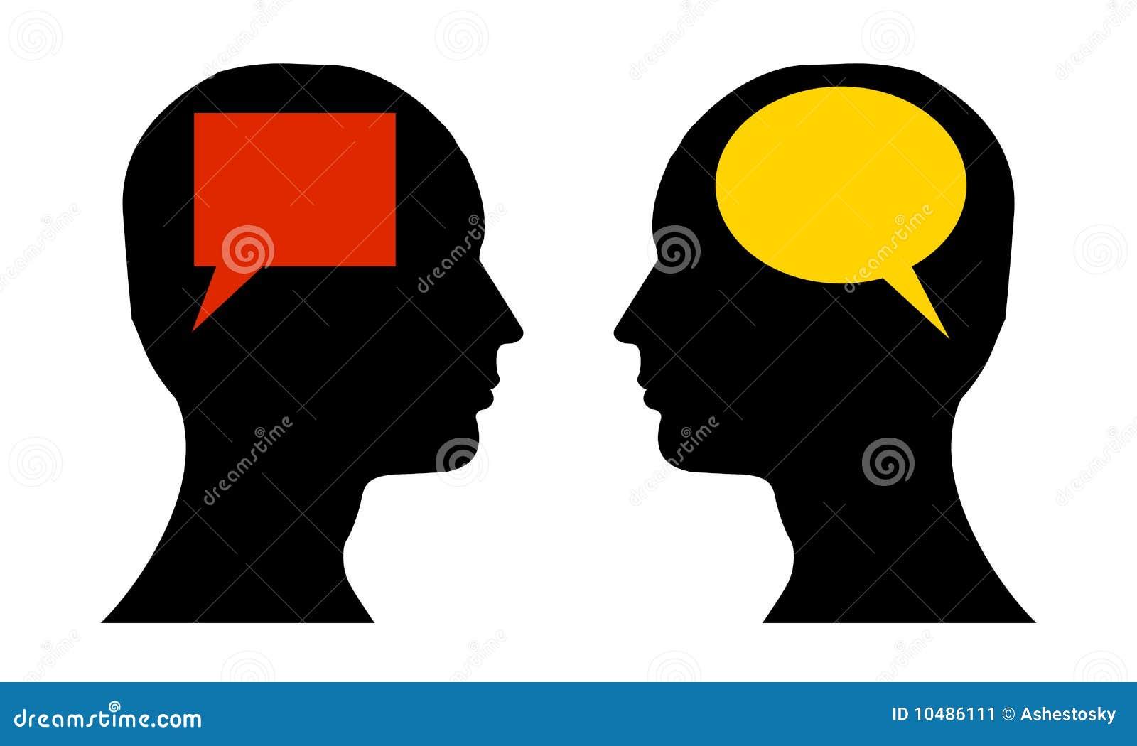 Różnica naprzeciw mowy główkowania
