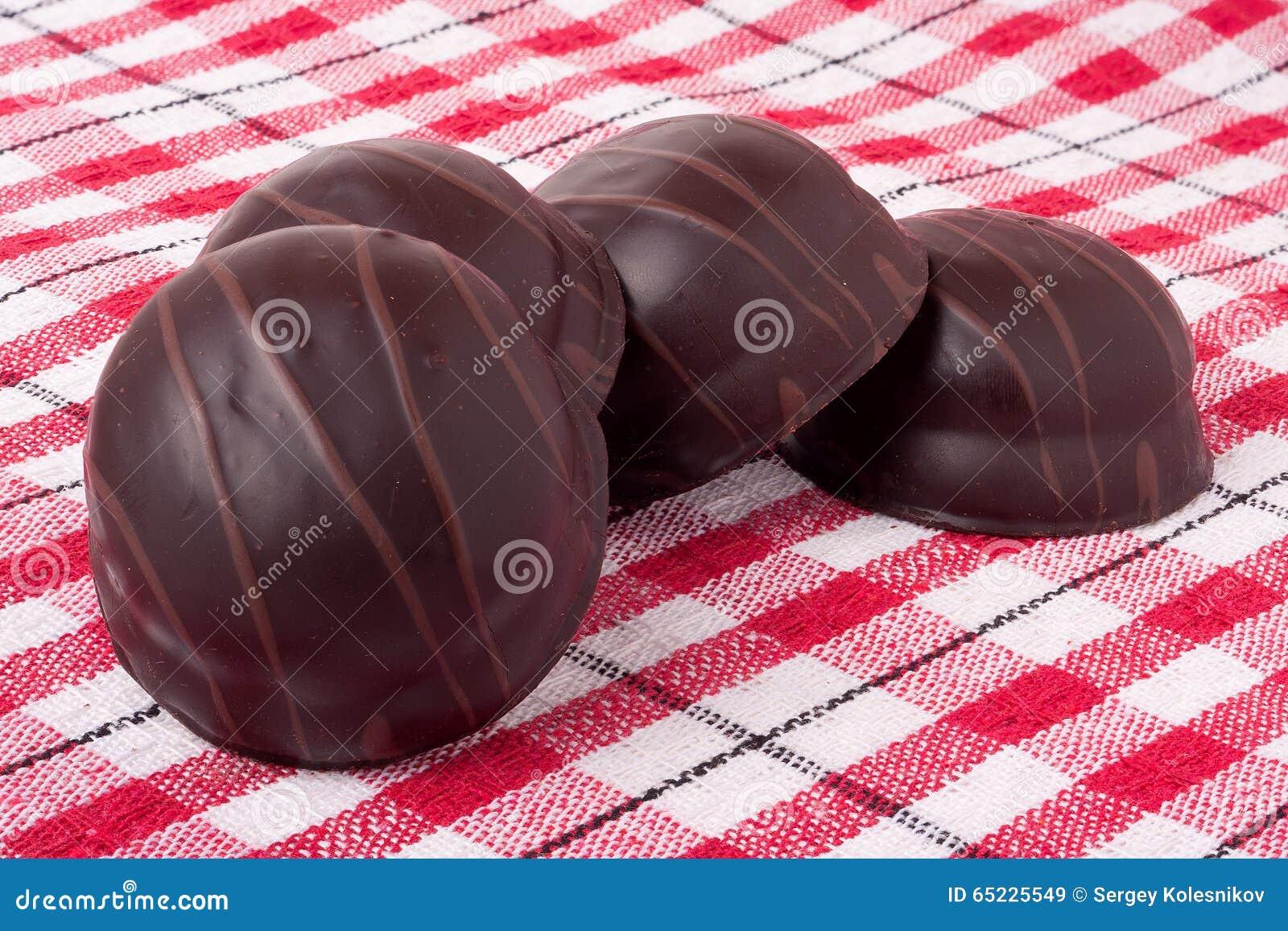 Różnicy chocolated słodcy pralines