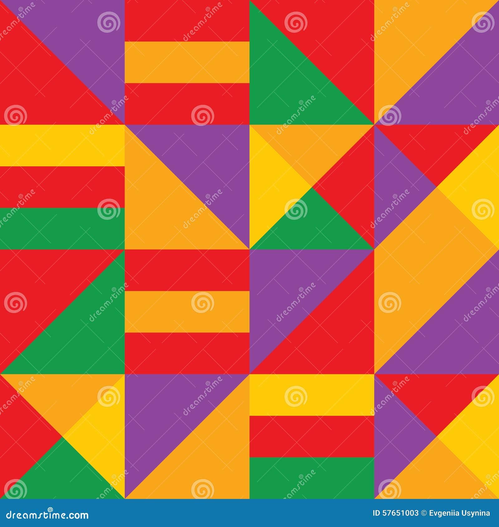 Różnobarwny wektorowy geometryczny paska wzoru tło