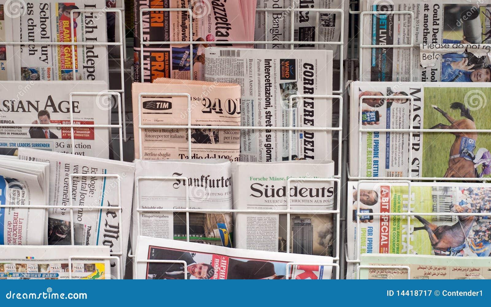 Różnorodne gazety