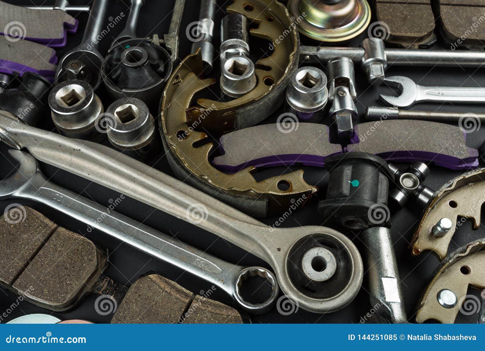 Różnorodne Samochodowe części i narzędzia