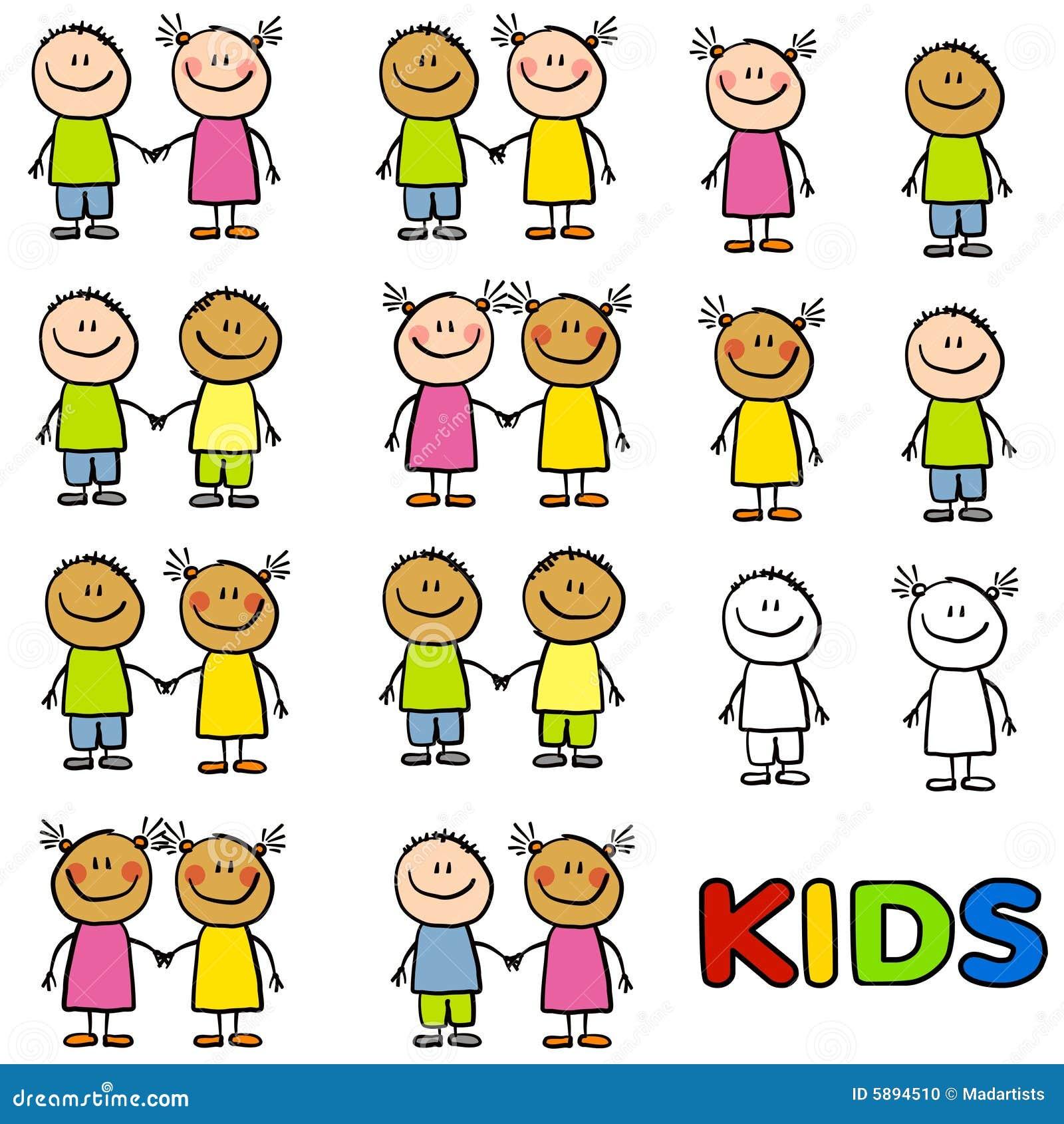Różnorodność przyjaźni dzieci