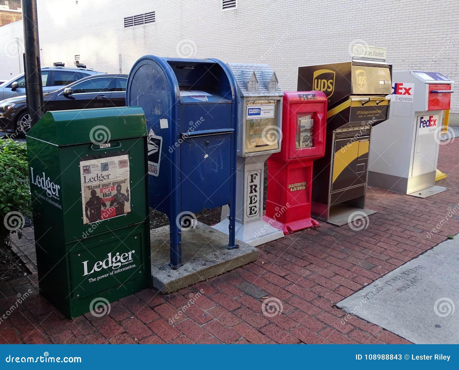 Różnorodność skrzynki pocztowa i