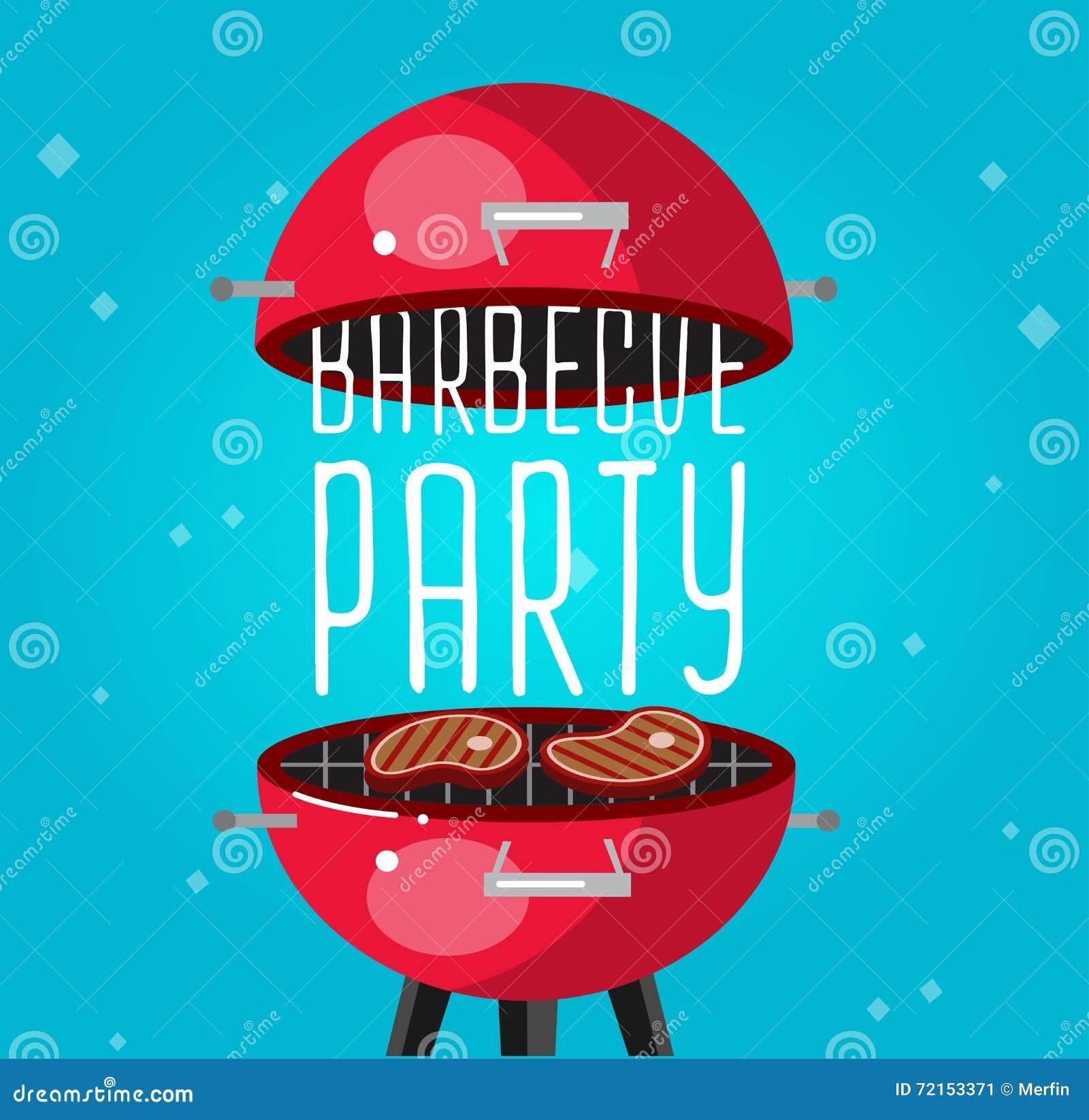 Różny mięso na grill ilustraci jakby