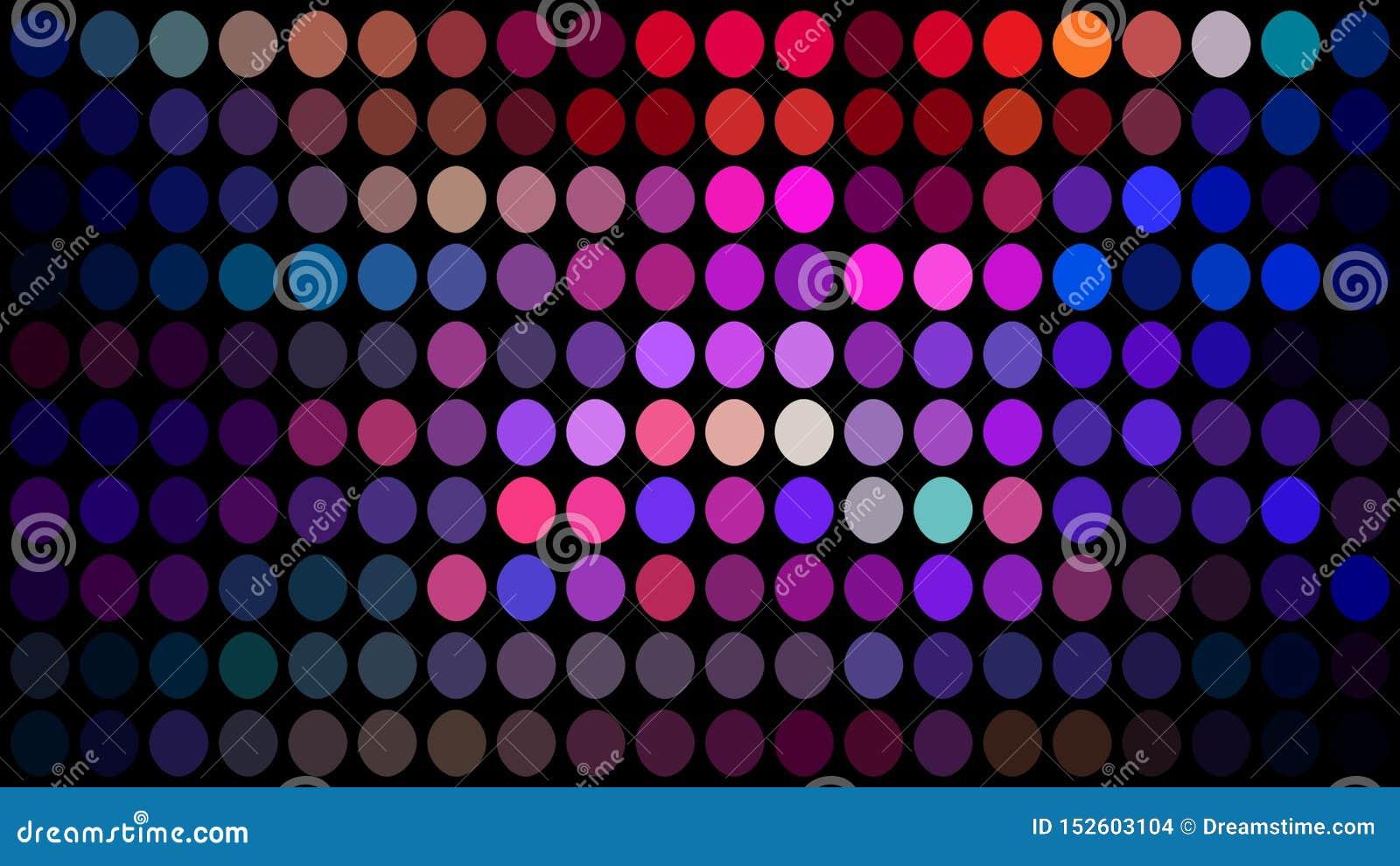 Różowa błękitna lila purpura kropkuje mozaiki tło Moda projekt