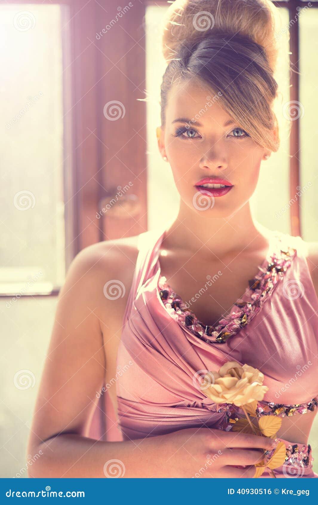 Różowa dama