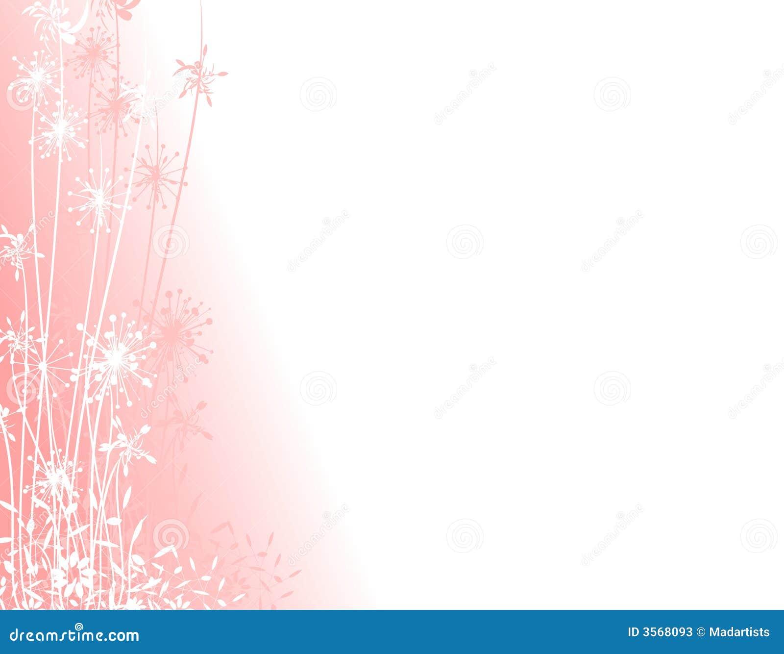 Różowe ogrodowych sylwetki zimy.