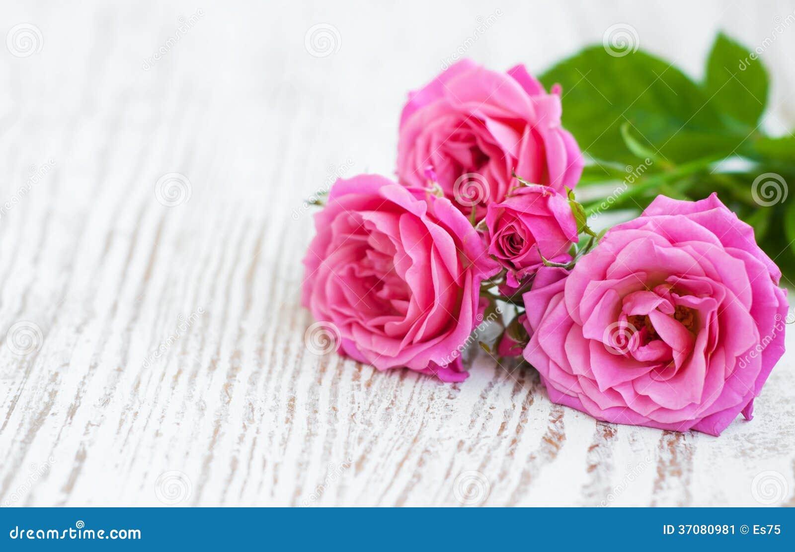 Download Różowe róże obraz stock. Obraz złożonej z bukiet, dekoracje - 37080981