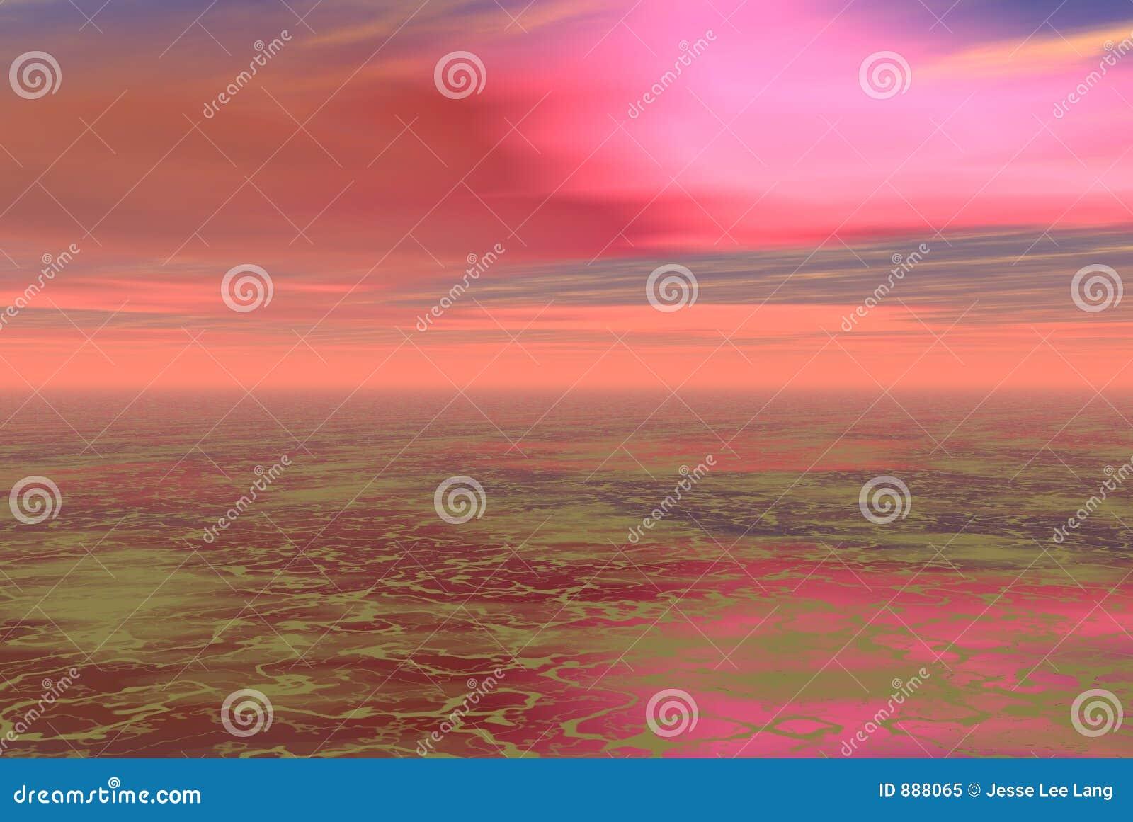 Różowe skys obcych
