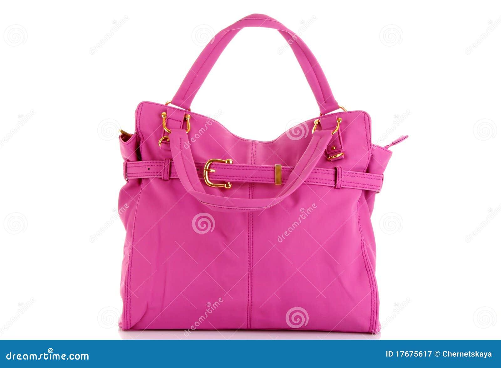 Różowe toreb kobiety