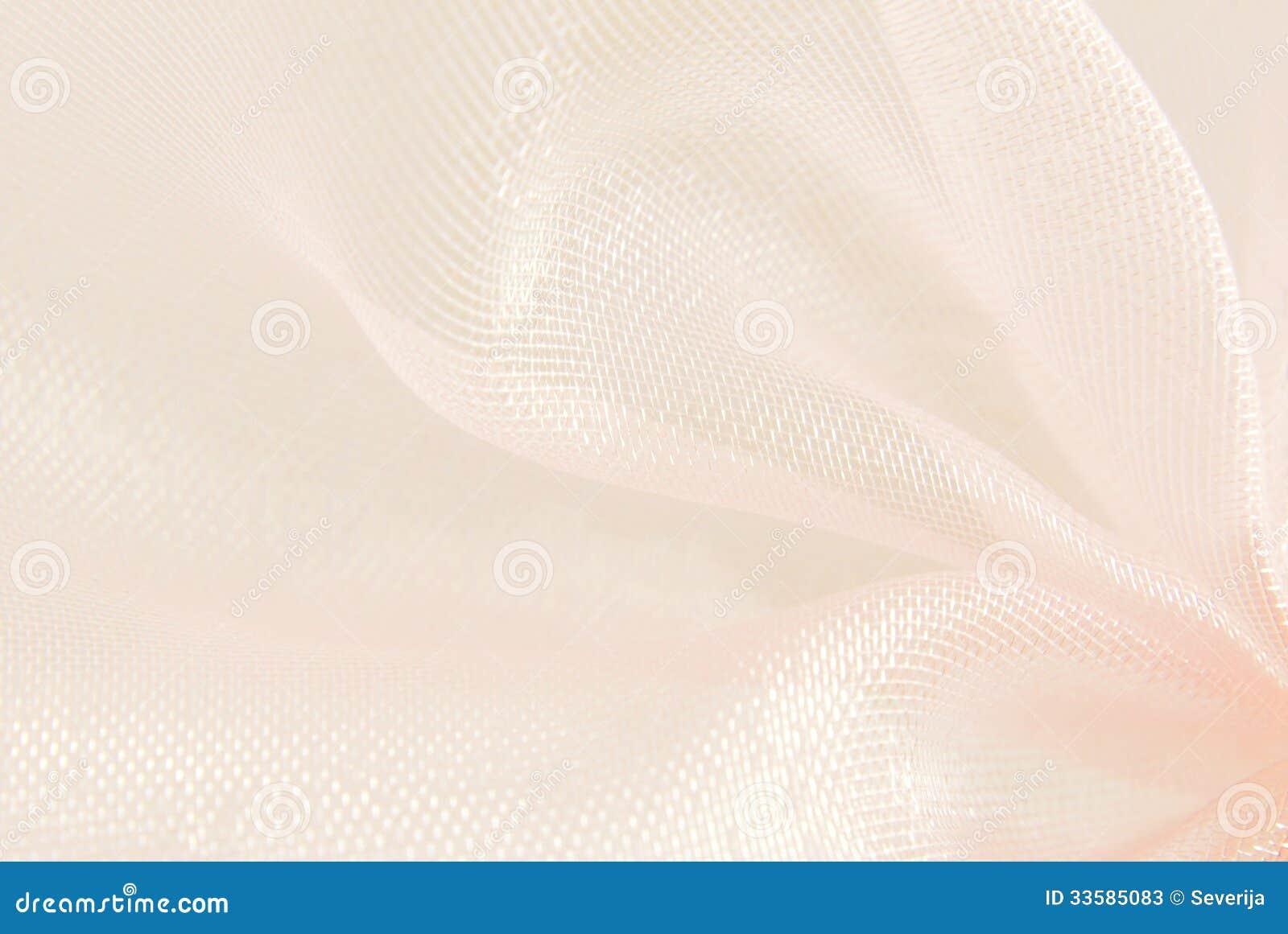 Różowego organza makro- rozmyty