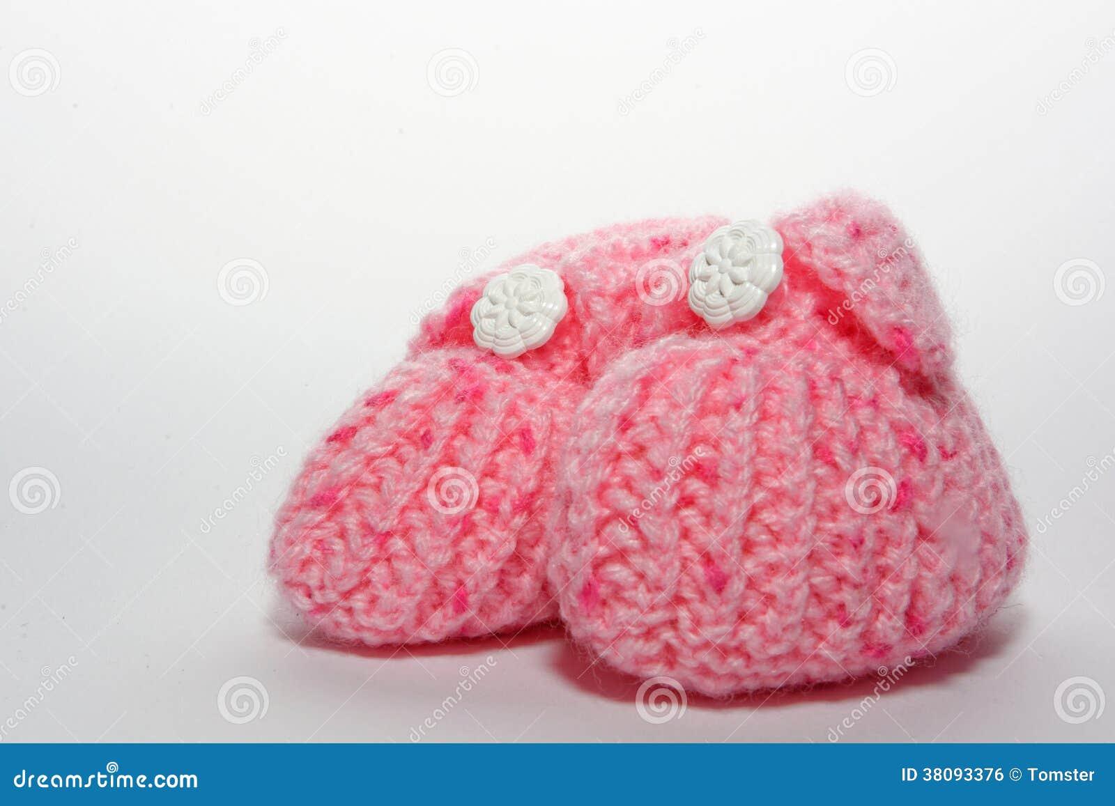 Różowi dziecko buty