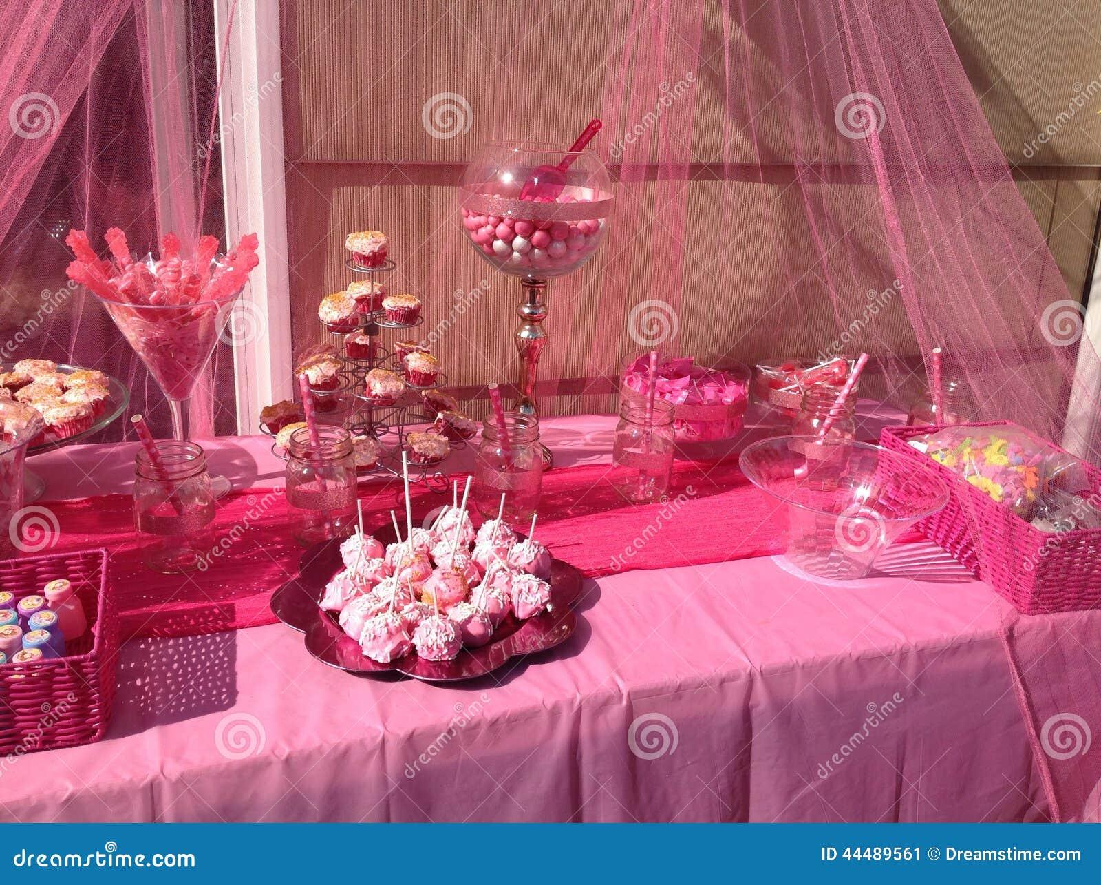 Różowy cukierku bar
