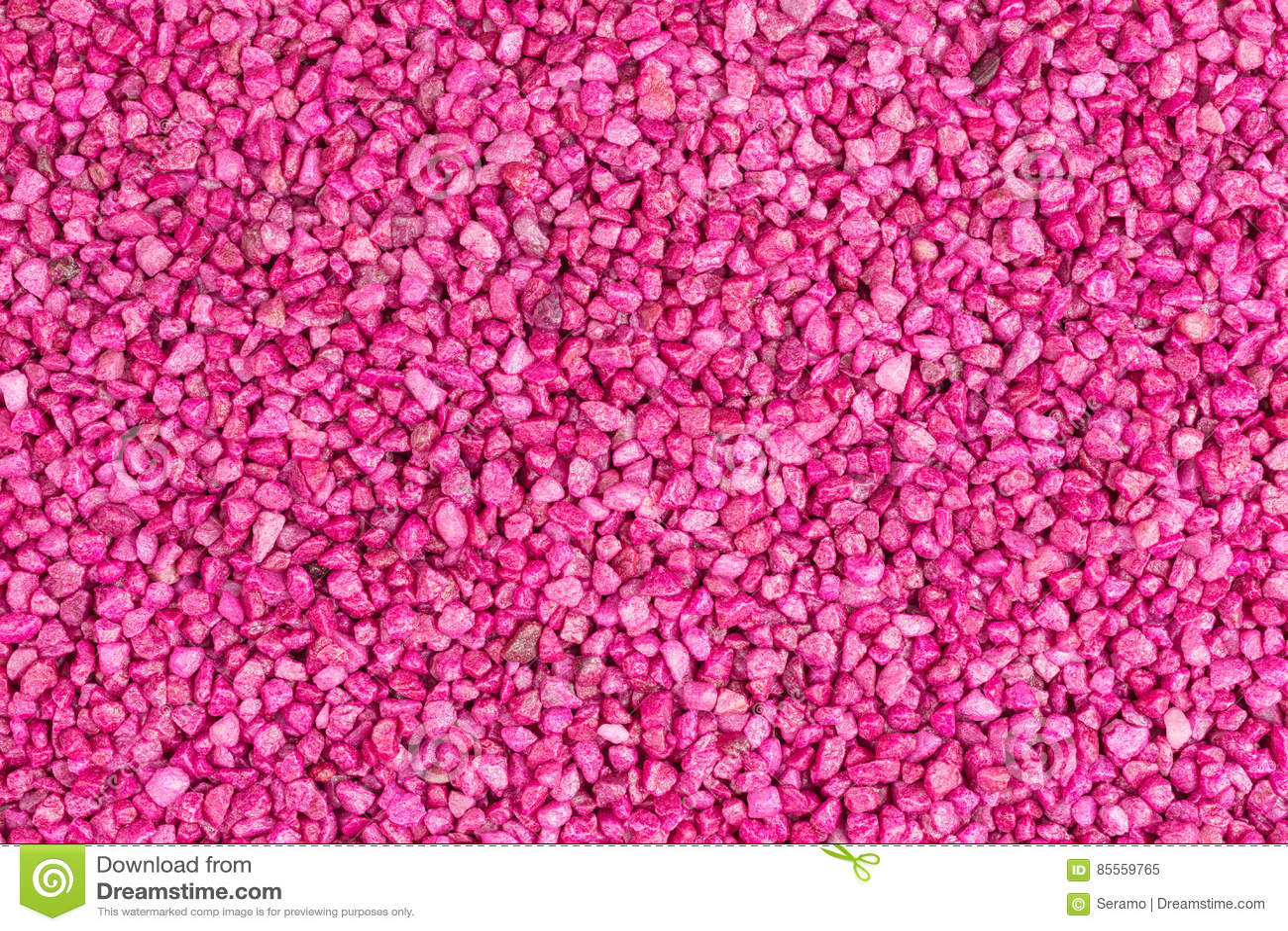 Różowy kamień granuluje