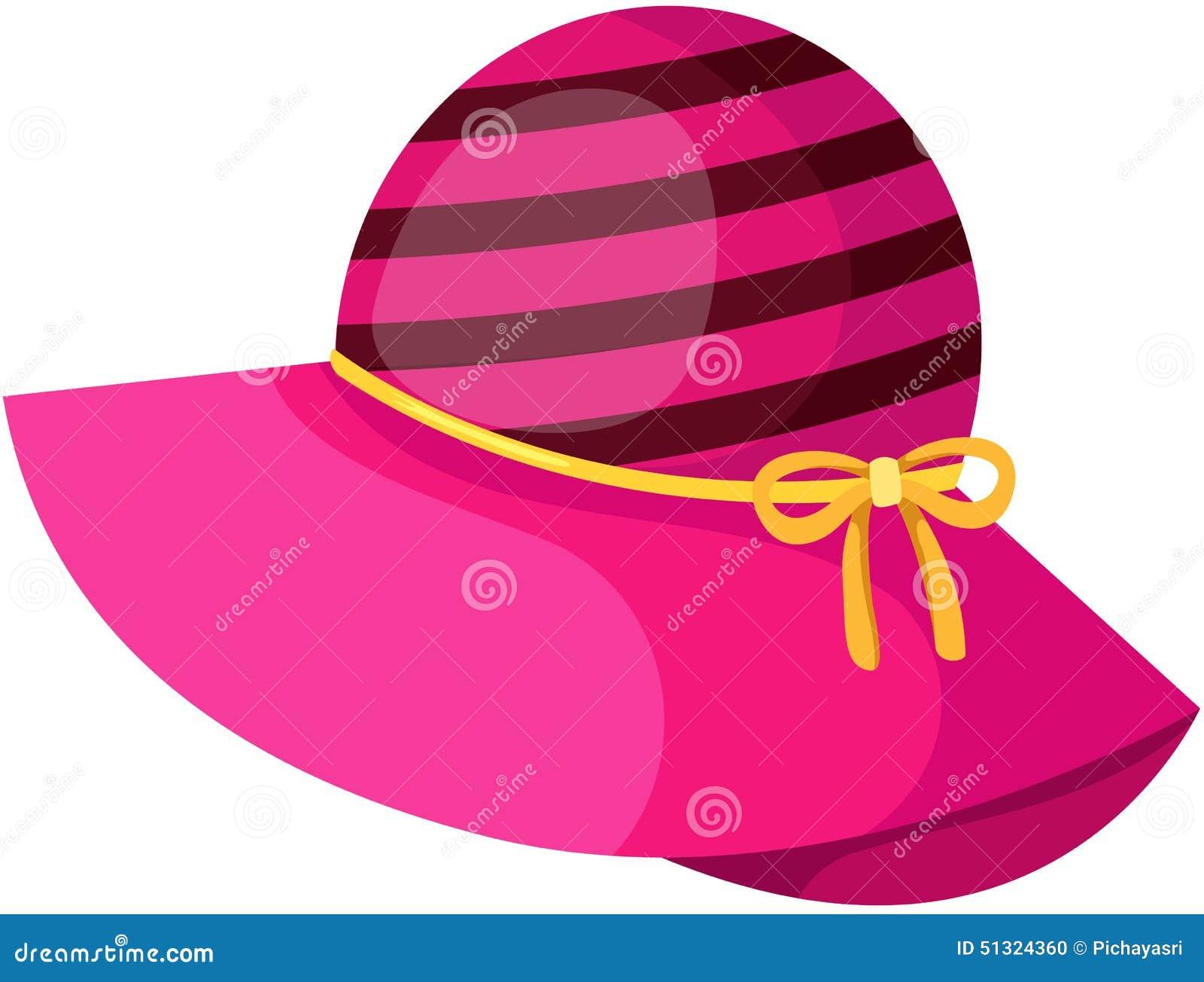 Różowy kapelusz