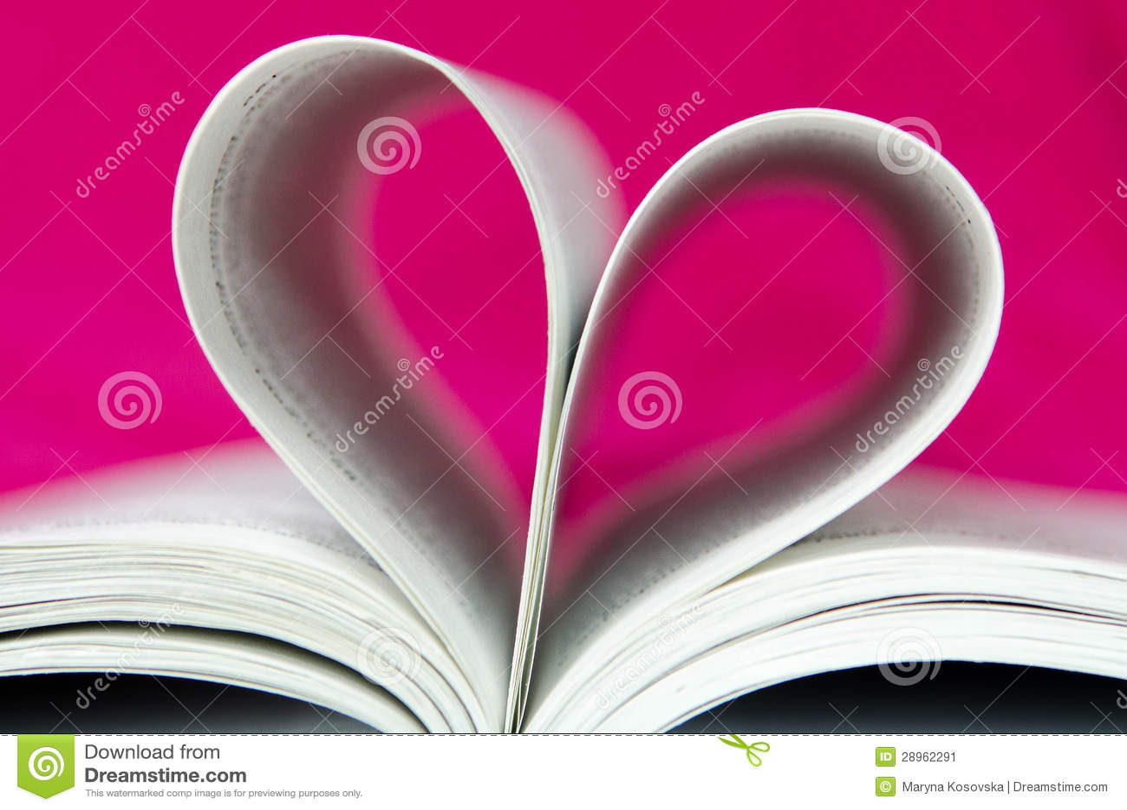 Różowy Książkowy Kierowy kształt