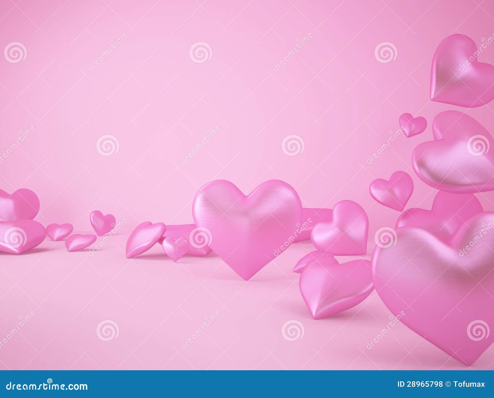Różowy serce